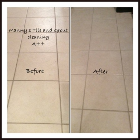 Before & After Tile and Grout Cleaning in Temple Terrace, FL